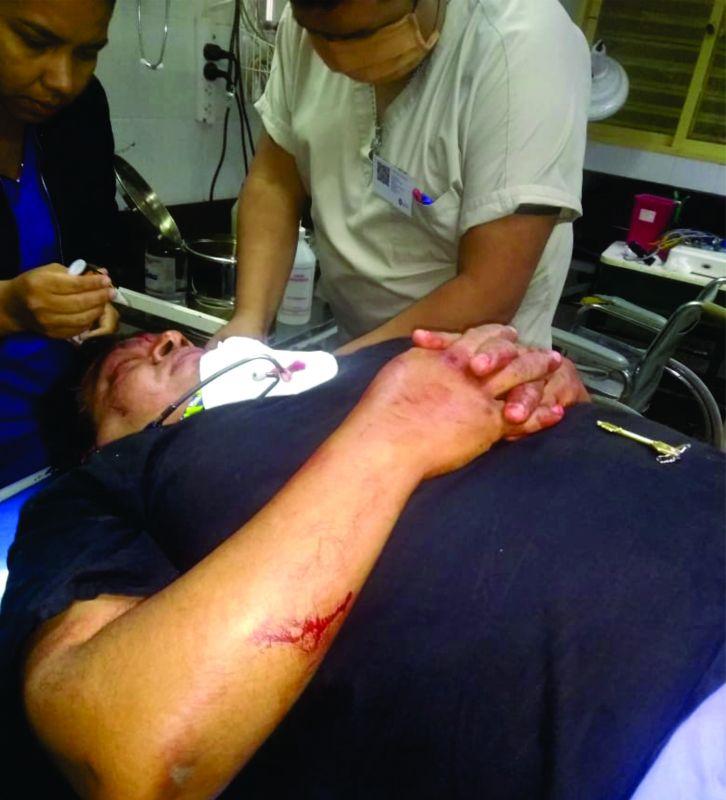 doctor atacado gonzalez